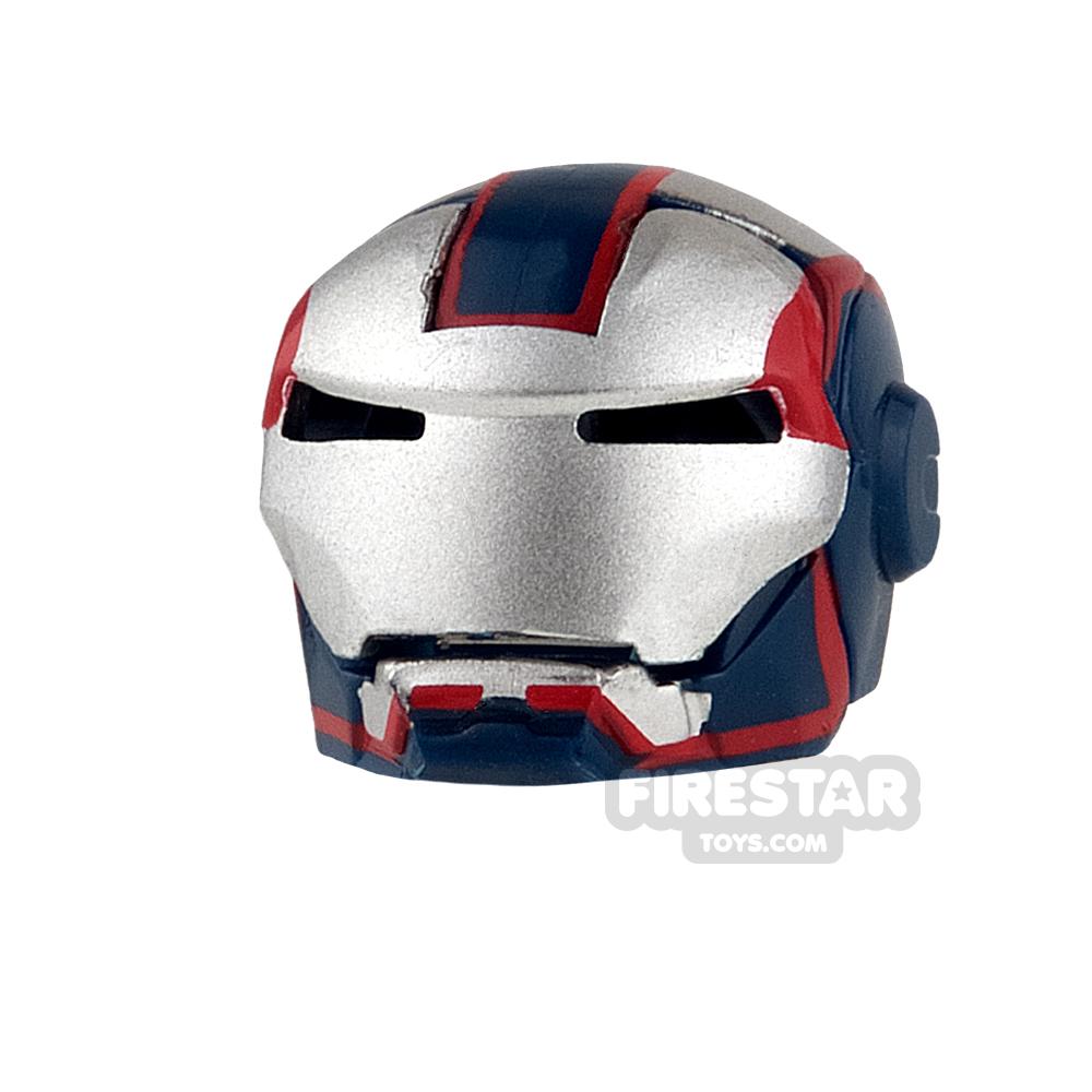 Clone Army Customs - MK Patriot Helmet - Dark Blue and Silver