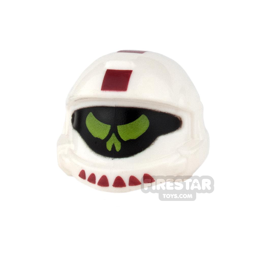 BrickForge - Shock Trooper Helmet - Screaming Demons - White