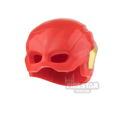 LEGO - The Flash Mask - Red and Gold