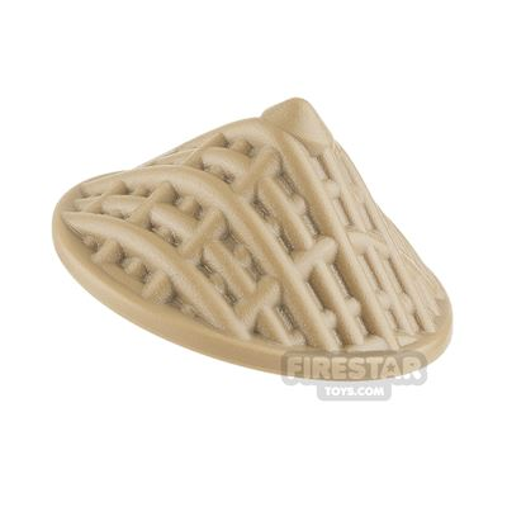 BrickWarriors - Straw Hat - Dark Tan