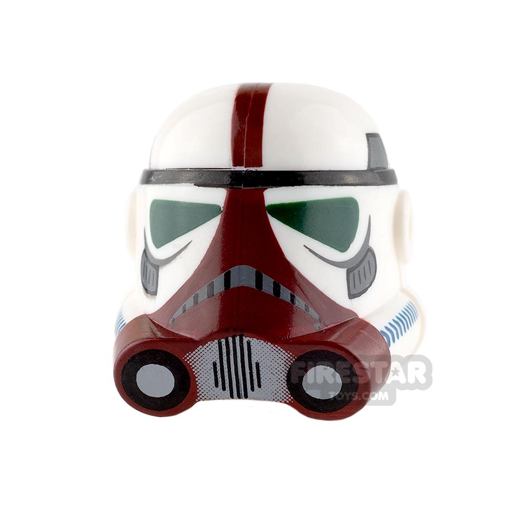 Clone Army Customs - P3 Helmet - Flame