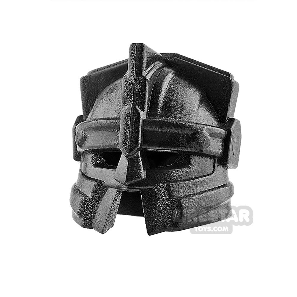 BrickWarriors - Dwarf Helmet - Black