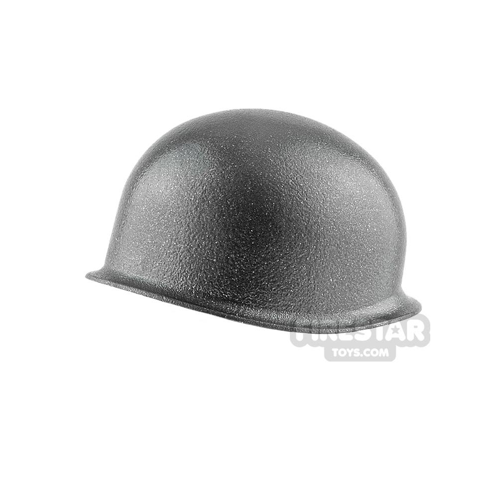 Brickarms - M1 Steel Pot Helmet - Gunmetal