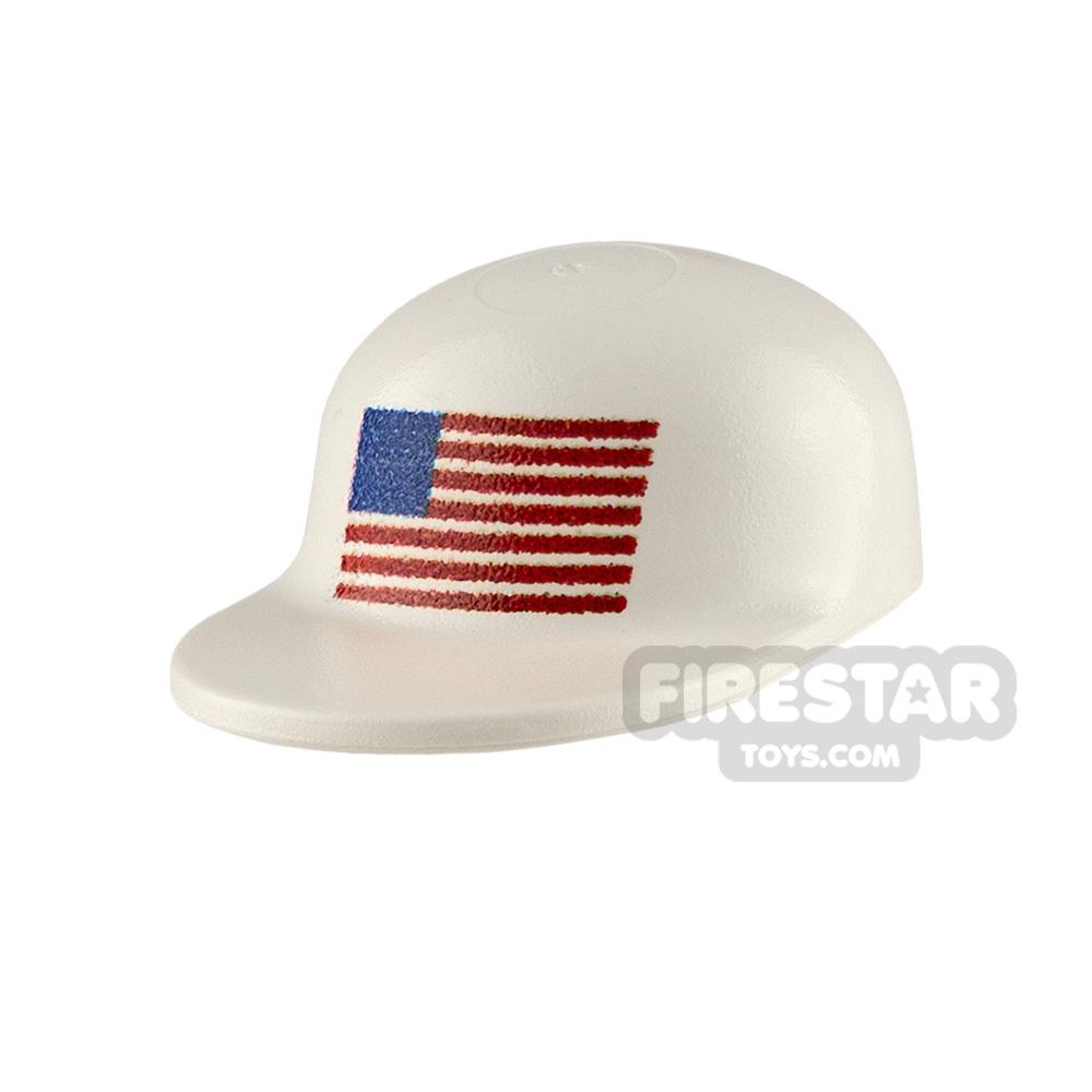 Custom Design Headgear American Flag Cap