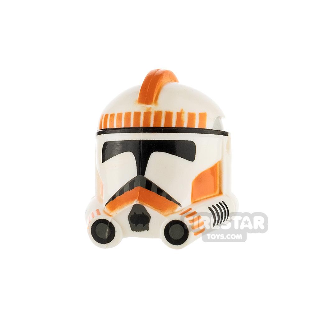Clone Army Customs P2 Shock Trooper Helmet Orange