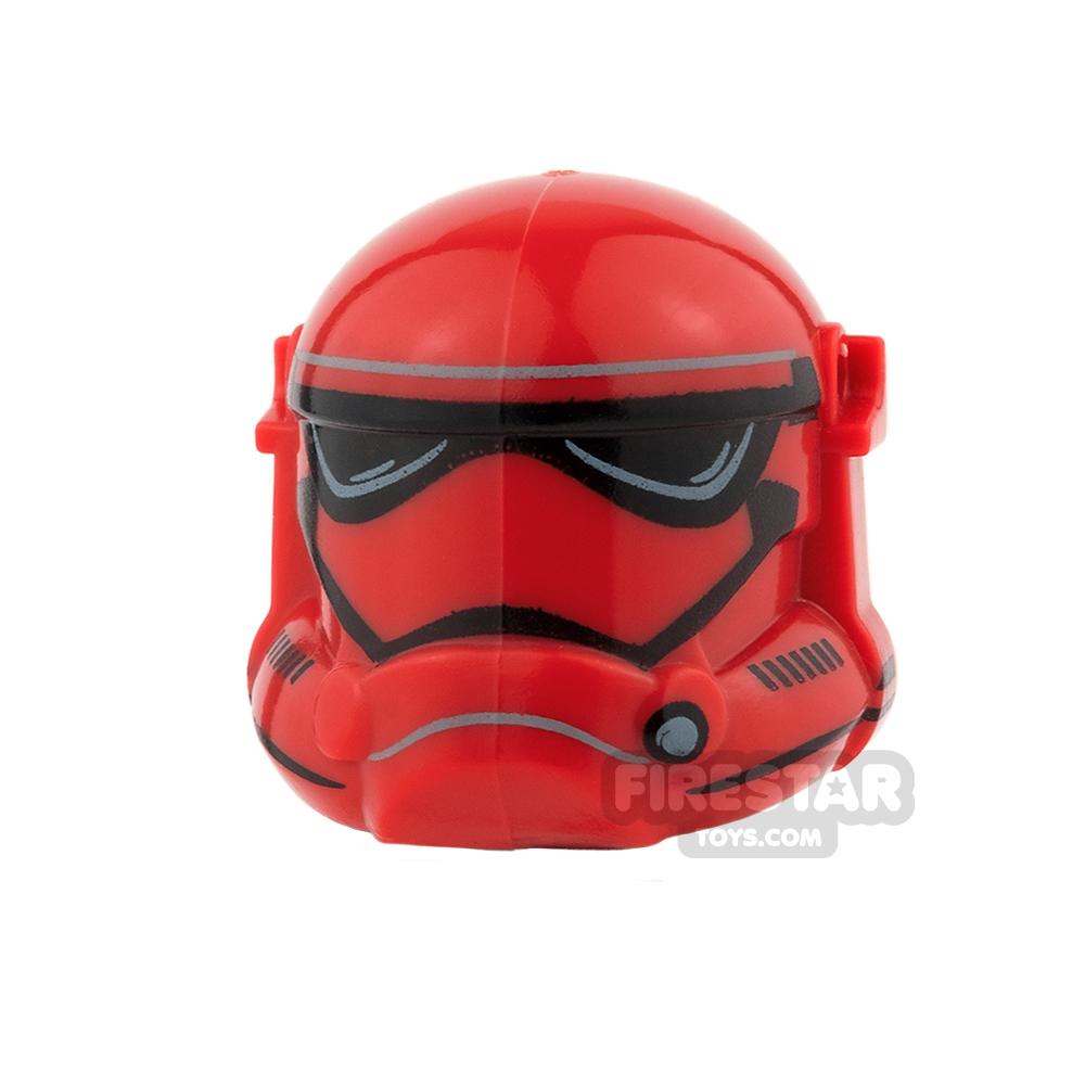 Arealight - Storm Combat Helmet - Red