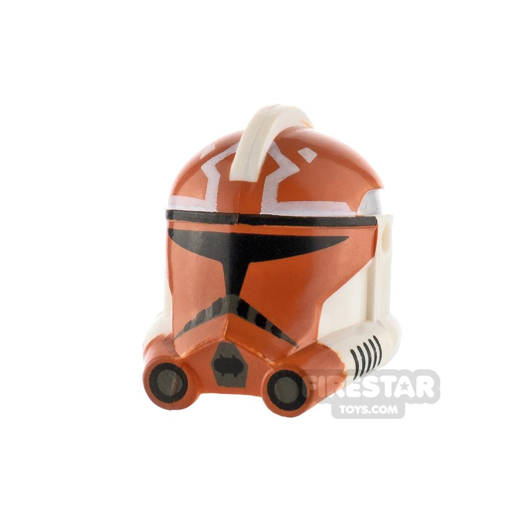 Clone Army Customs P2 Helmet 332nd Trooper Dark Orange