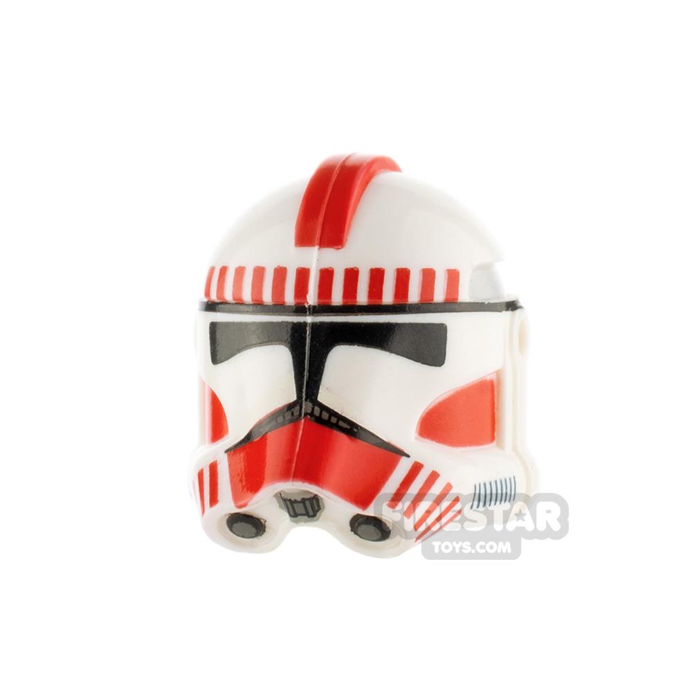 Clone Army Customs RP2 Helmet Shock Red