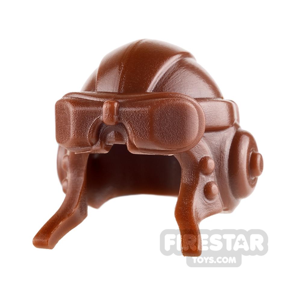 BrickWarriors - Aviator Helmet - Brown