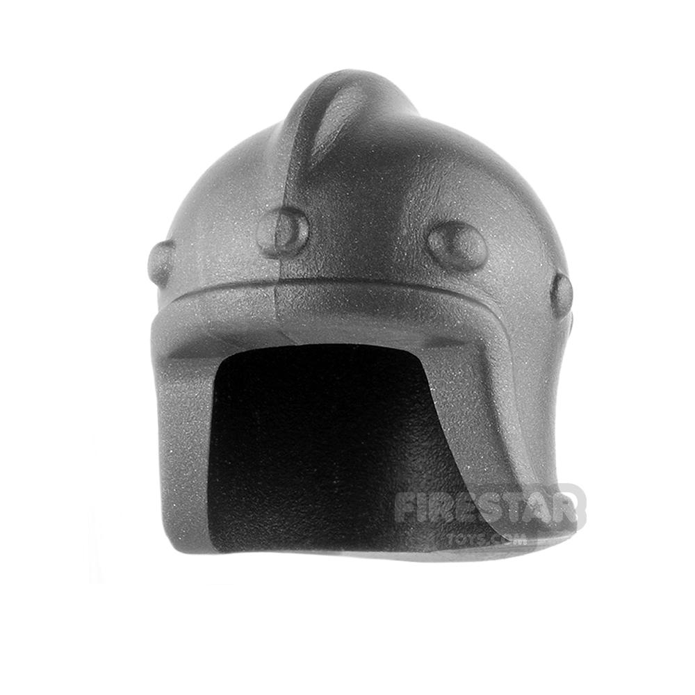 BrickWarriors - Archer Helm - Steel
