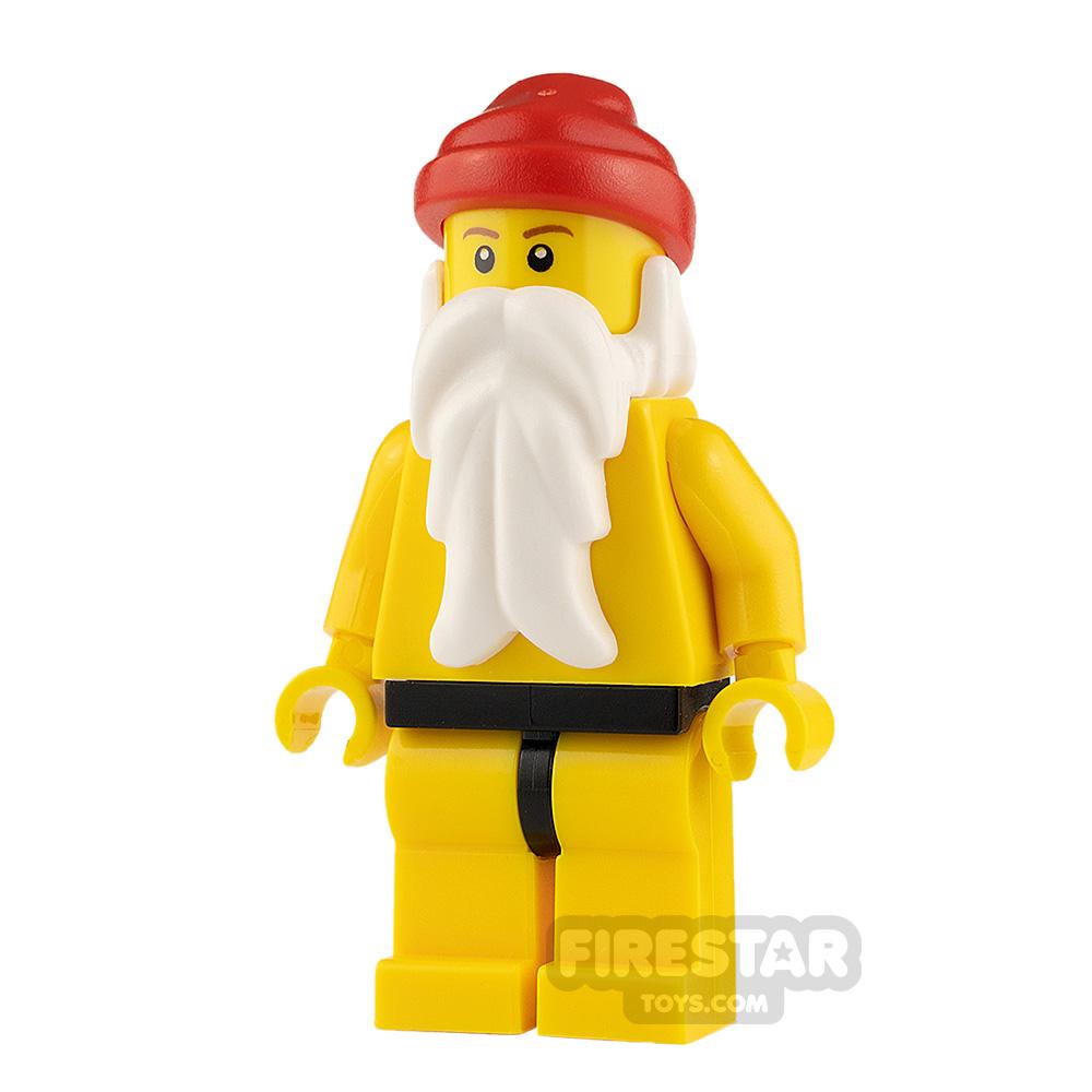 LEGO City Minifigure Santa Yellow Legs