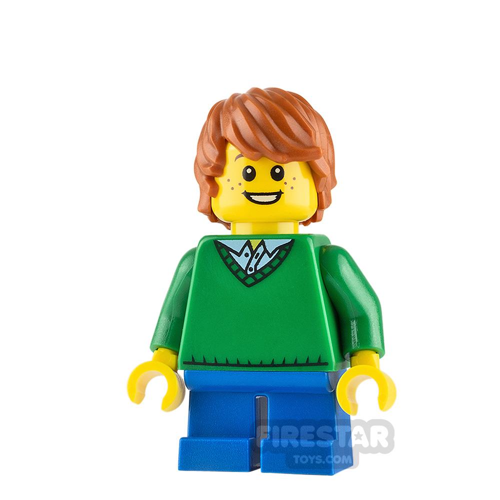 LEGO City Minifigure Green Sweater
