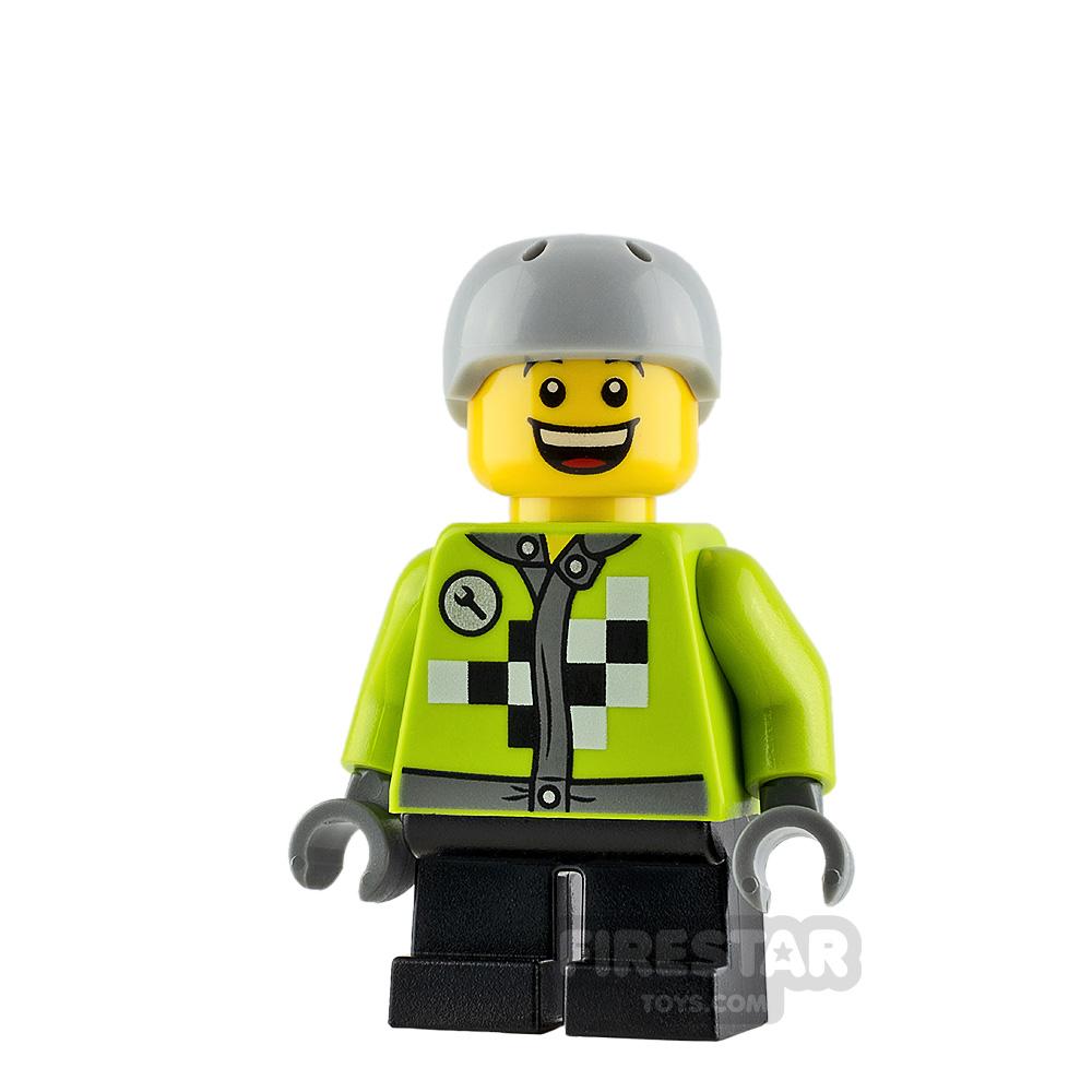 LEGO City Minifigure Checkered Jacket