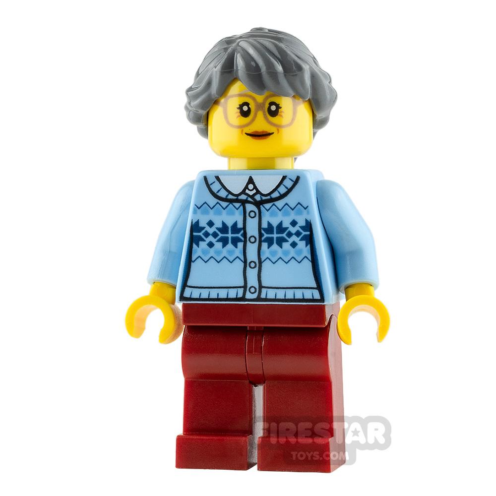 LEGO City Minifigure Grandmother