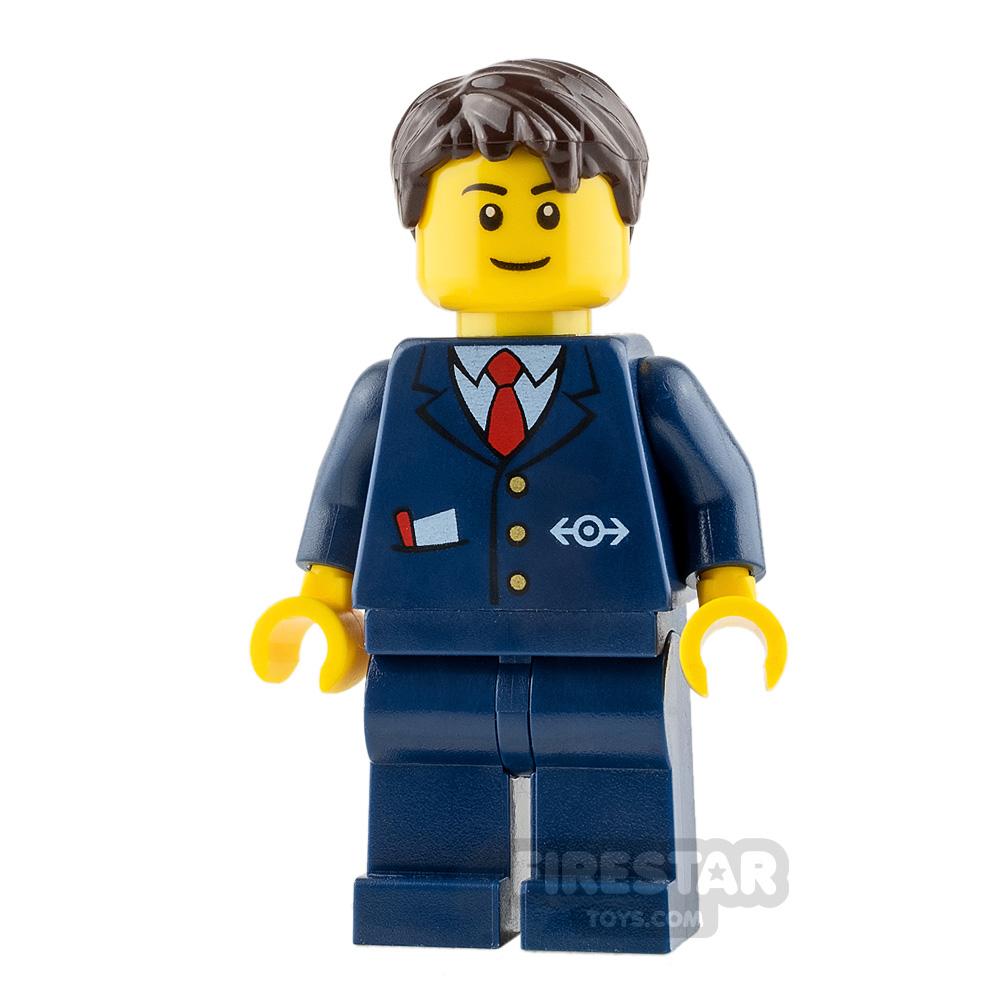 LEGO City Minifigure Ticket Agent