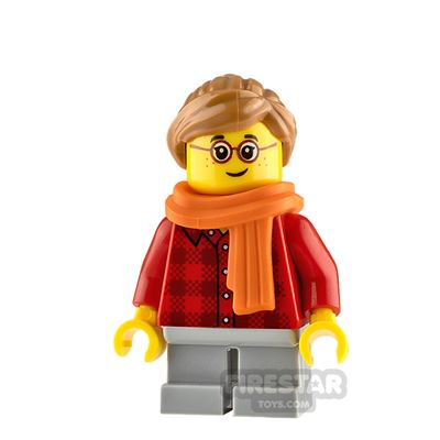 LEGO City Minifigure Girl with Scarf