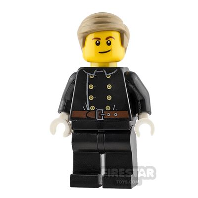 LEGO City Minifigure Fireman Jacket with 8 Buttons