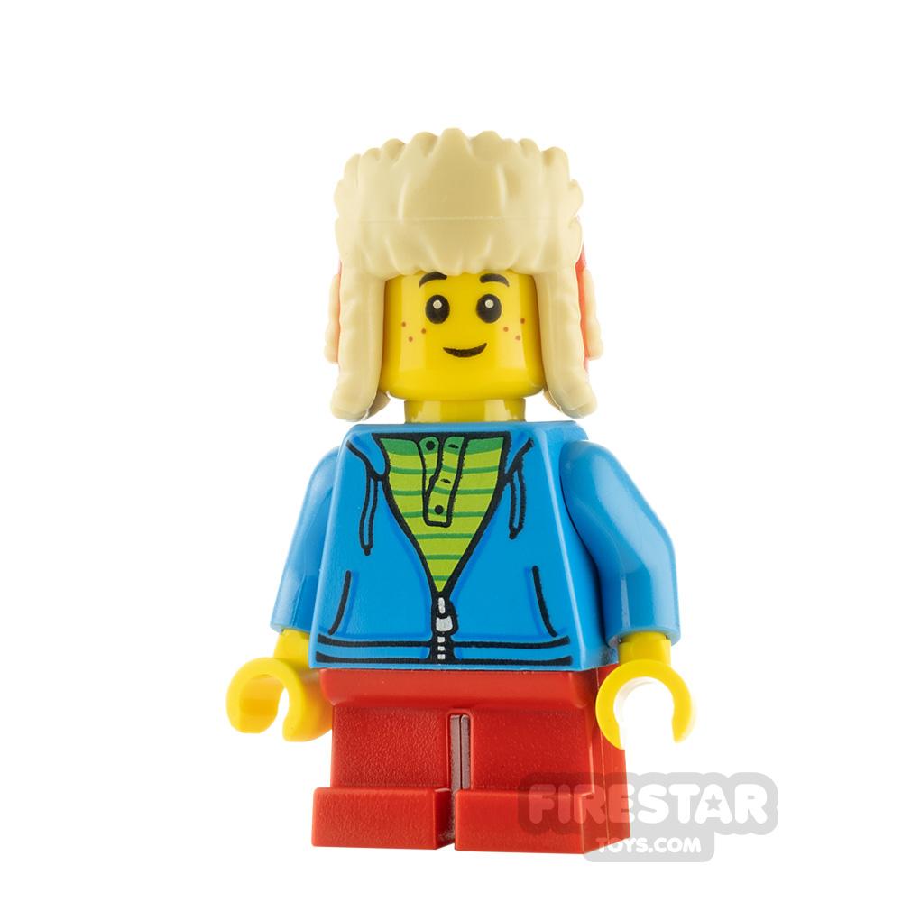 LEGO City Minfigure Boy Winter Hat