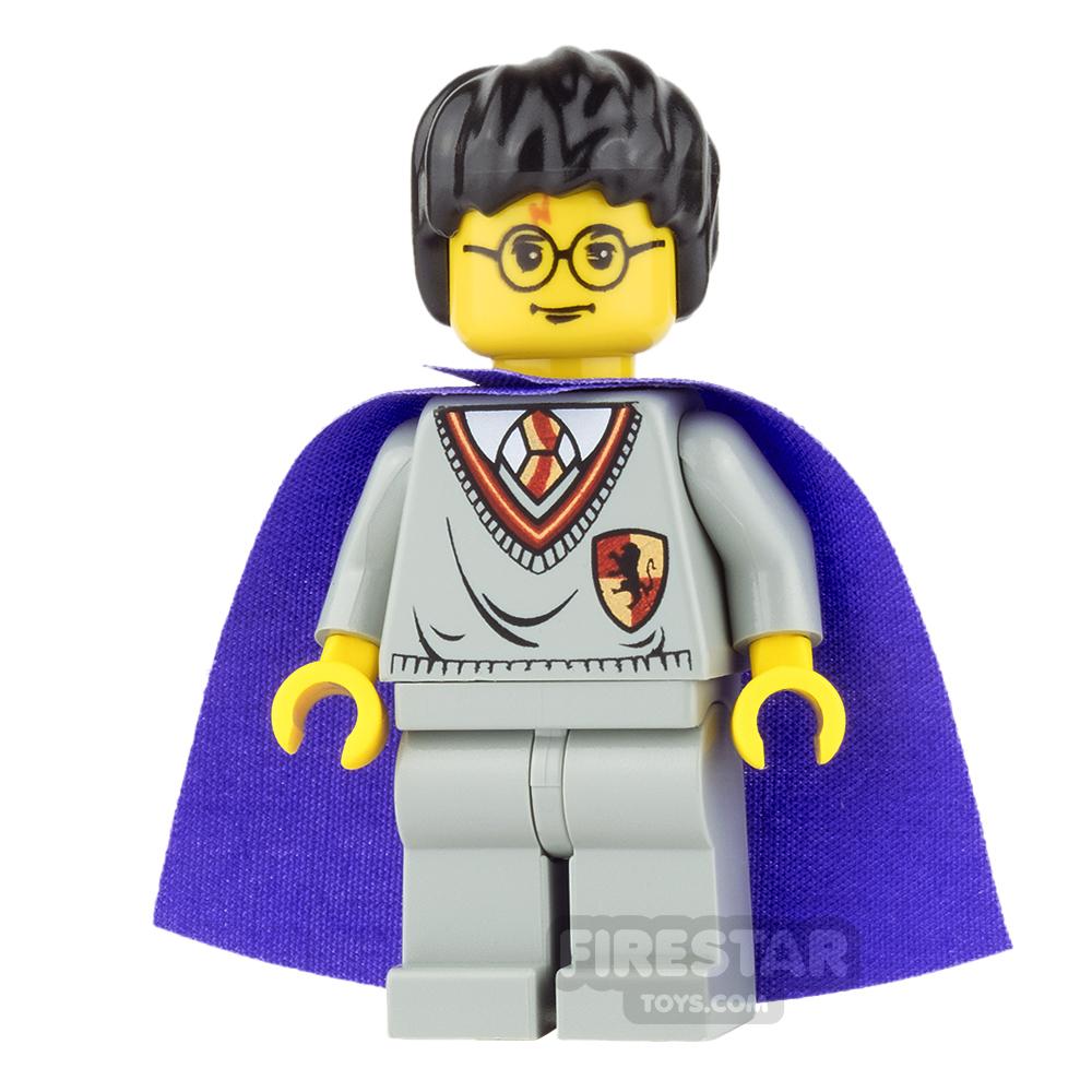 LEGO Harry Potter Mini Figure - Harry - Violet Cape