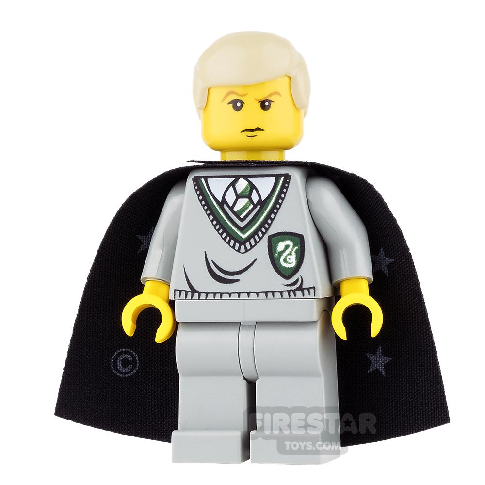 LEGO Harry Potter Mini Figure - Draco Malfoy - Black Cape with Stars