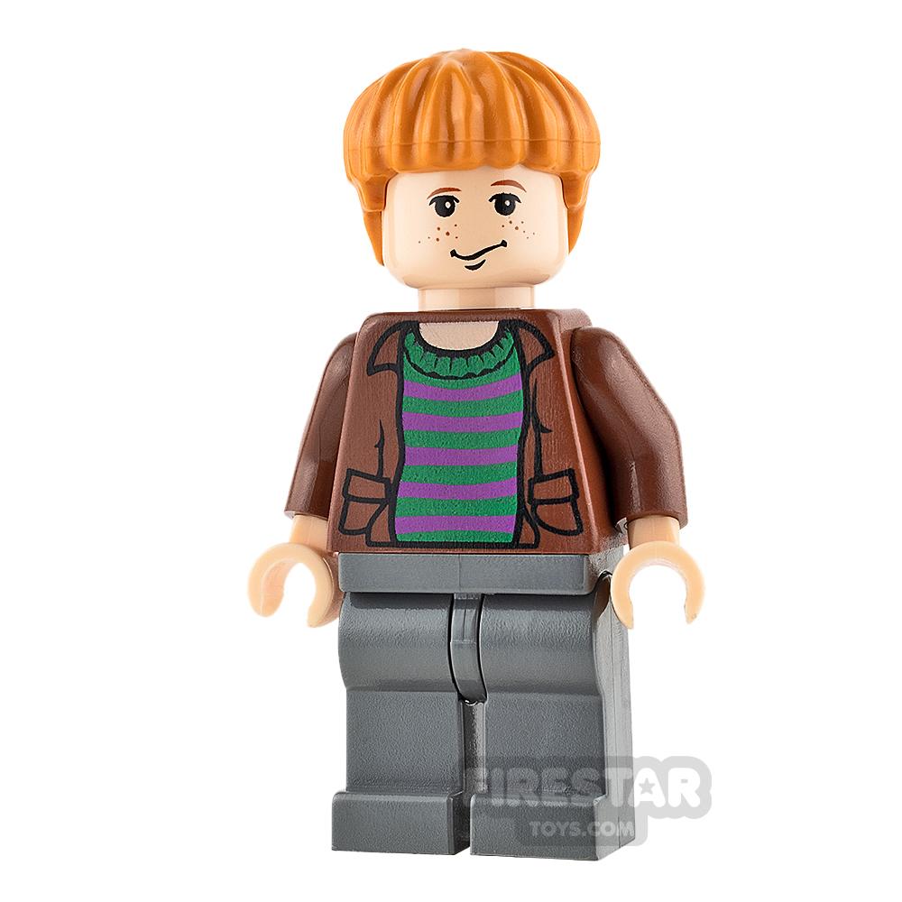 LEGO Harry Potter Mini Figure - Ron Weasley - Striped Sweater