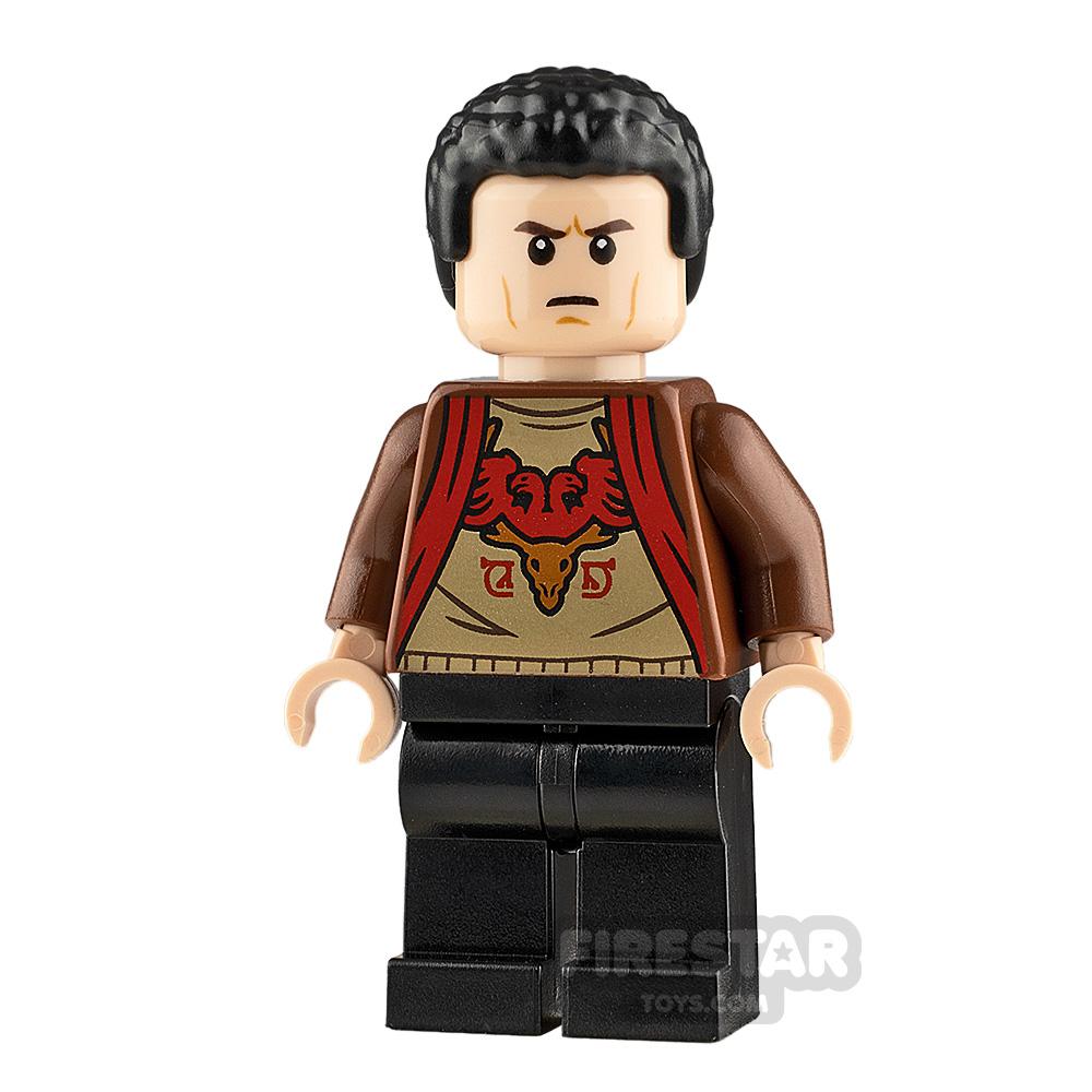 LEGO Harry Potter Minifigure Viktor Krum Tournament Uniform