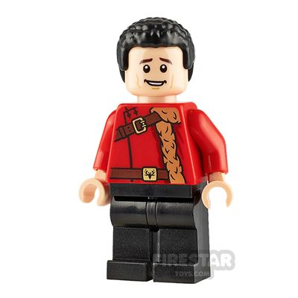 LEGO Harry Potter Minifigure Viktor Krum Red Uniform