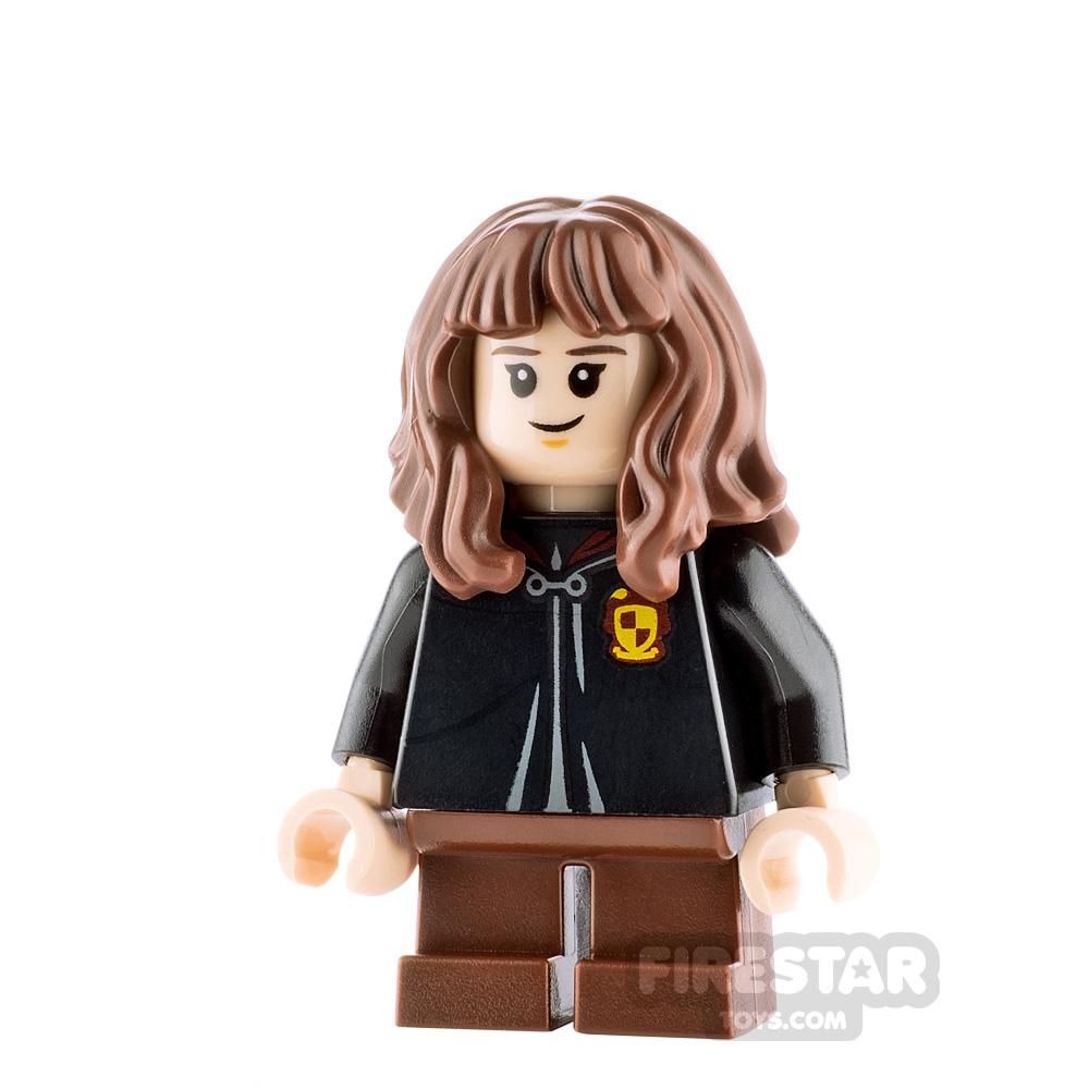 LEGO Harry Potter Minifigure Hermione Granger Gryffindor Robe