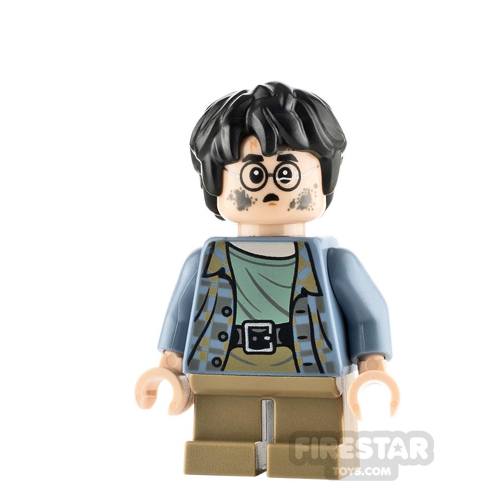 LEGO Harry Potter Minifigure Harry Potter Sand Blue Jacket
