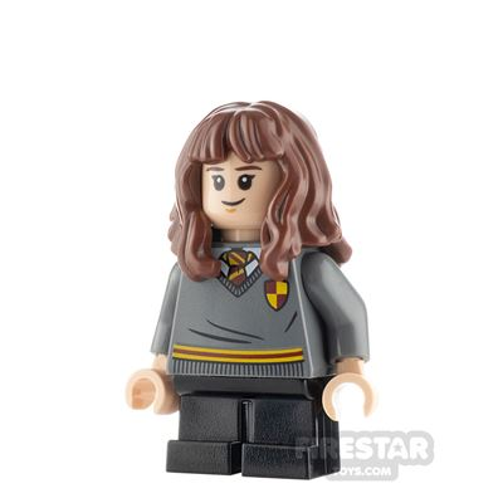 LEGO Harry Potter Minifigure Hermione Granger Gryffindor Sweater