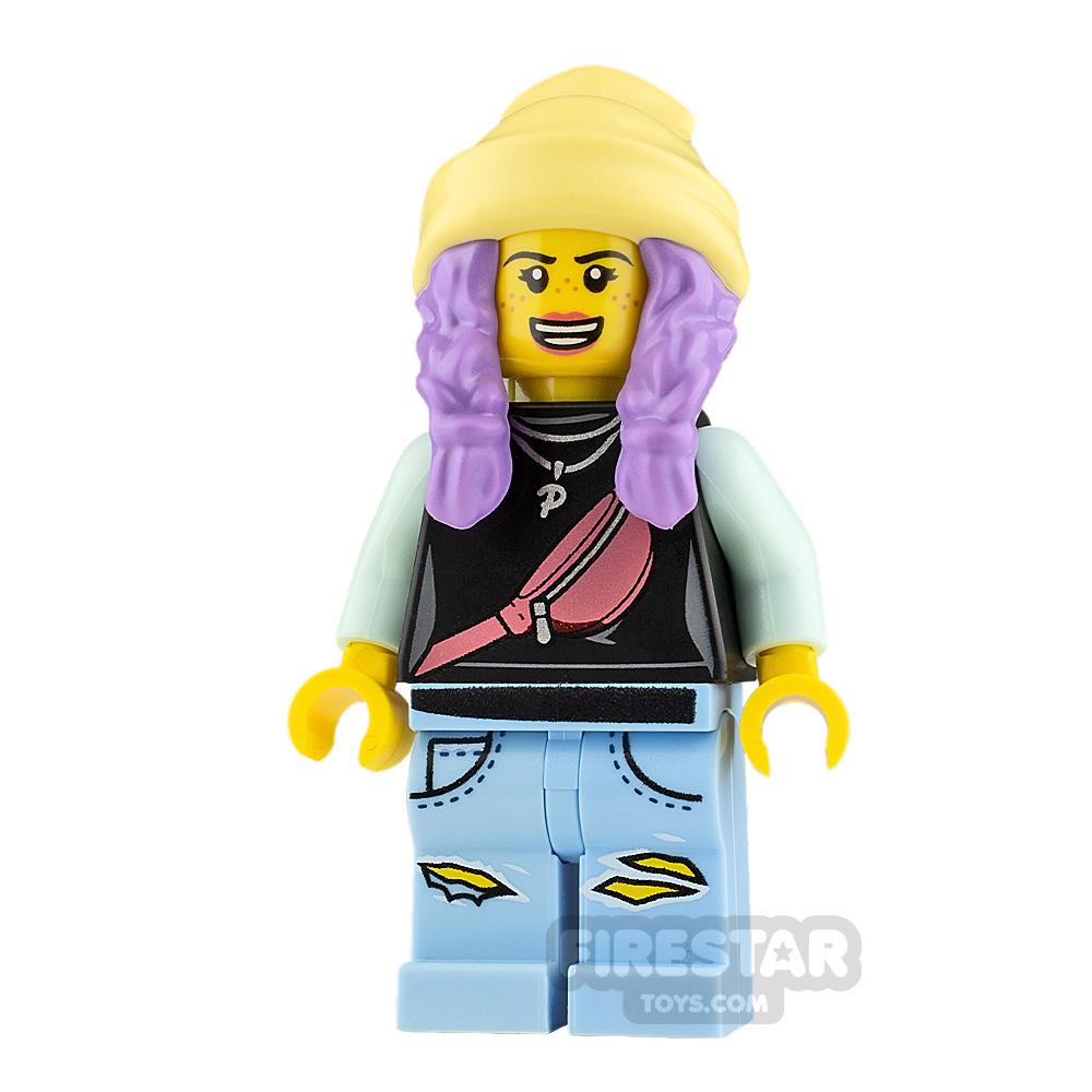 LEGO Hidden Side Minifigure Parker L. Jackson Smile and Sad
