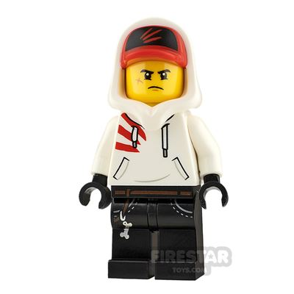 LEGO Hidden Side Minifigure Jack Davids Smile and Angry