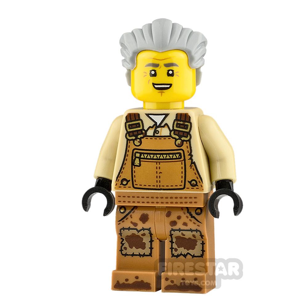LEGO Hidden Side Minifigure Mr Branson