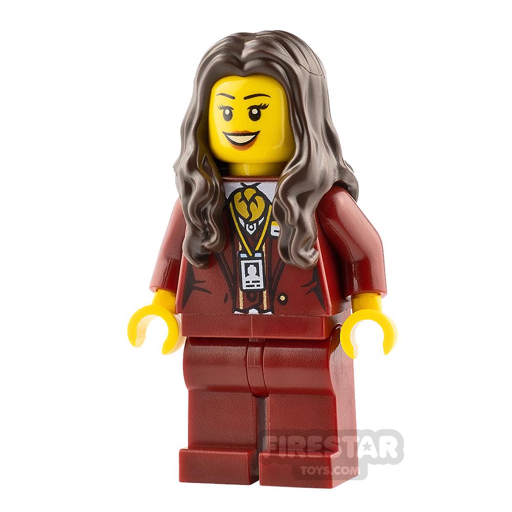 LEGO Hidden Side Minifigure Ms. Santos