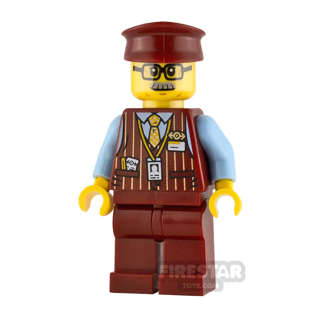 LEGO Hidden Side Minifigure Chuck