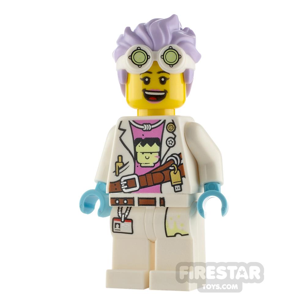 LEGO Hidden Side Minifigure J.B. Watt Smile and Scared