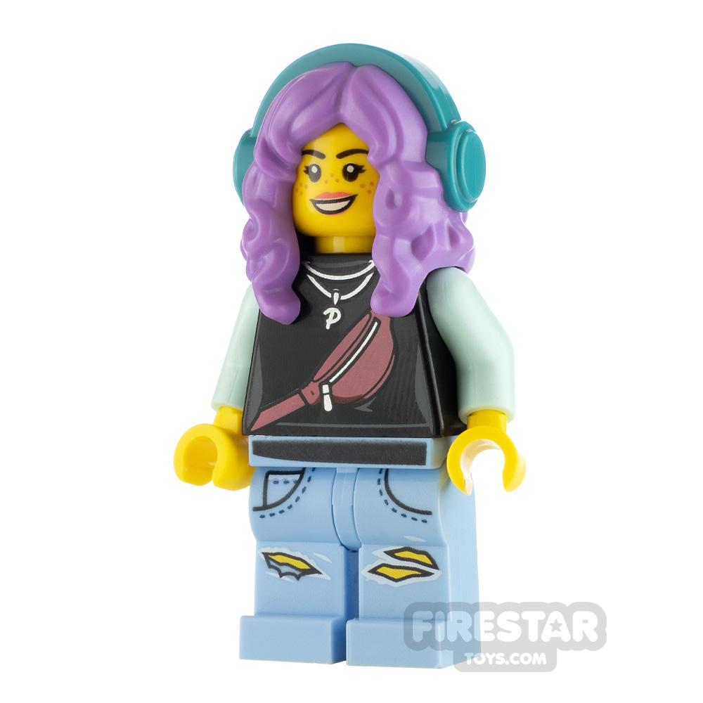 LEGO Hidden Side Minifigure Parker L. Jackson Headphones