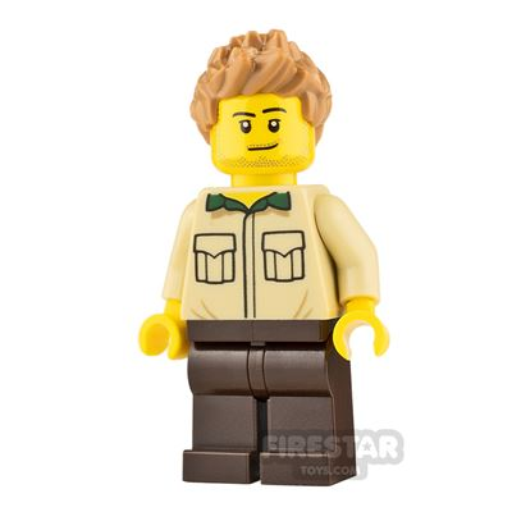 LEGO Ideas Dad Shirt and Stubble