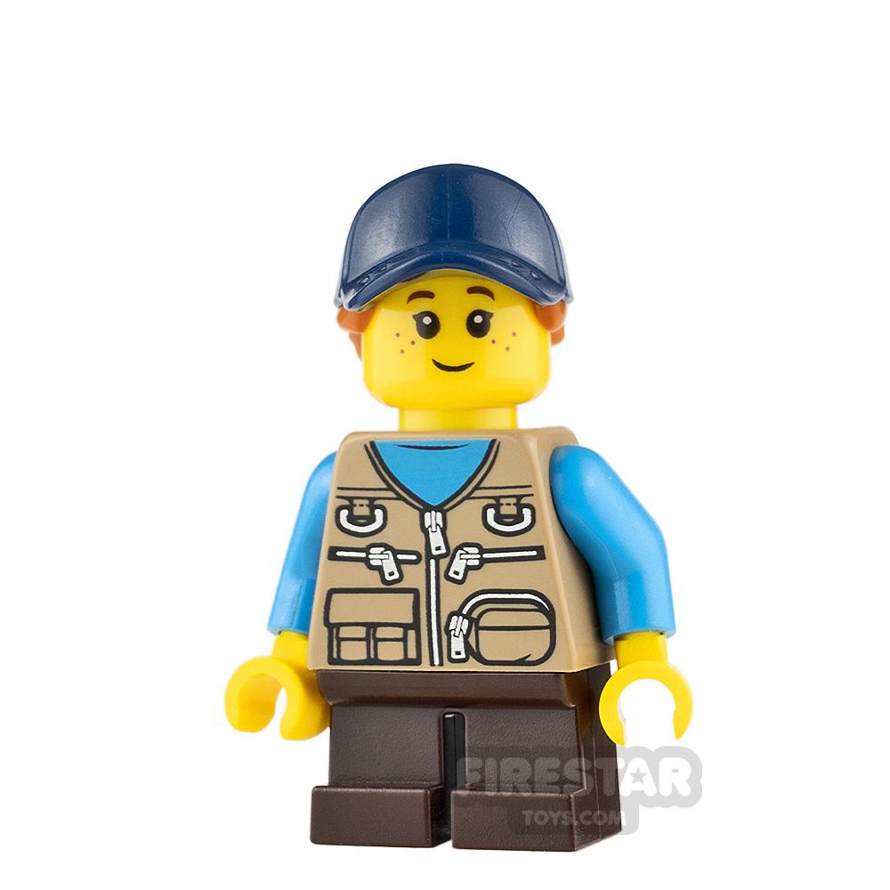 LEGO Ideas Girl Dark Tan Vest