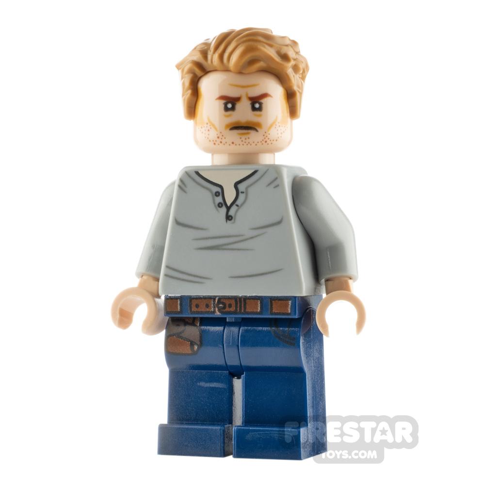 LEGO Jurassic World Figure Owen Grady Open Shirt