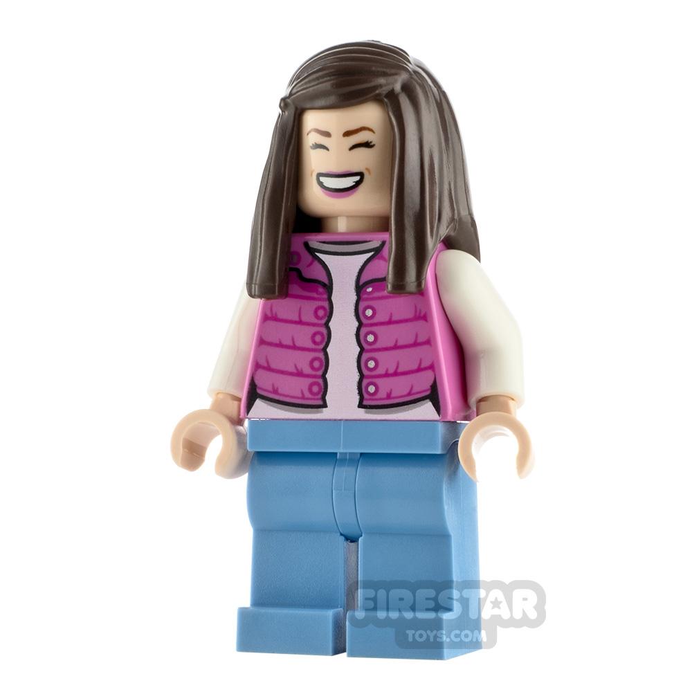 LEGO Jurassic World Figure Tourist Pink Jacket