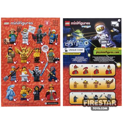 LEGO - Minifigures Series 15 Collectable Leaflet