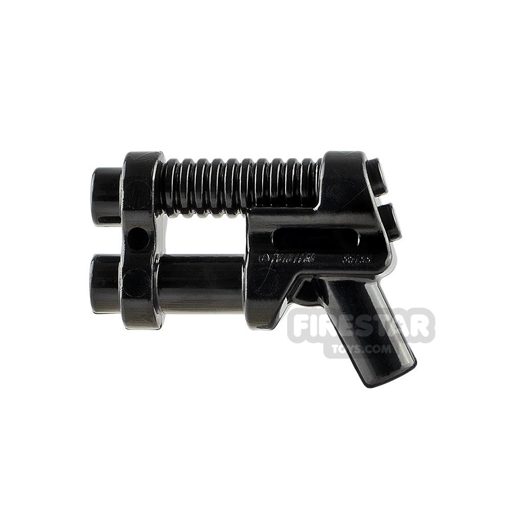 LEGO Gun - Two Barrel Pistol - Black