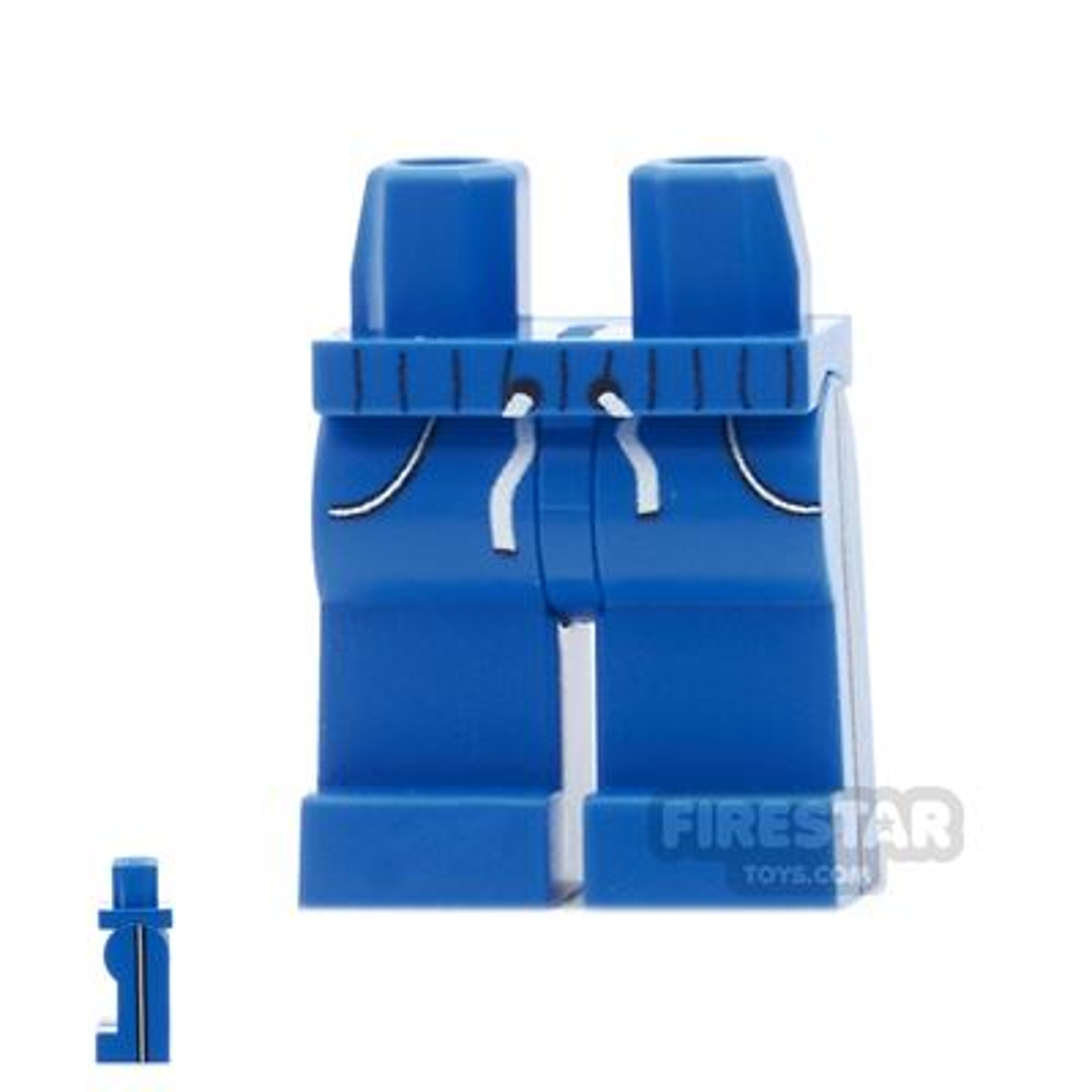 Custom Design Legs - Jogging Bottoms - Blue