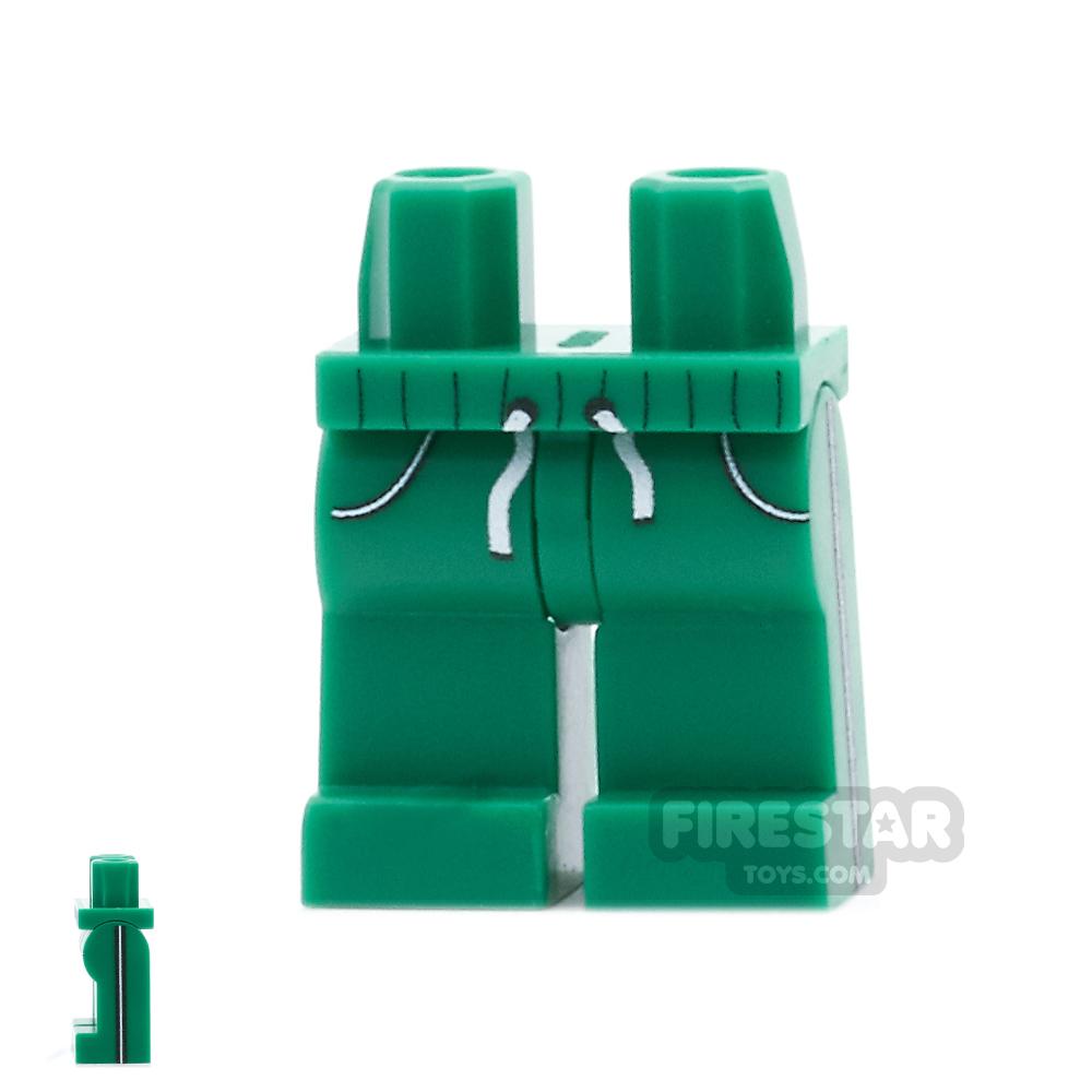 Custom Design Legs - Jogging Bottoms - Green