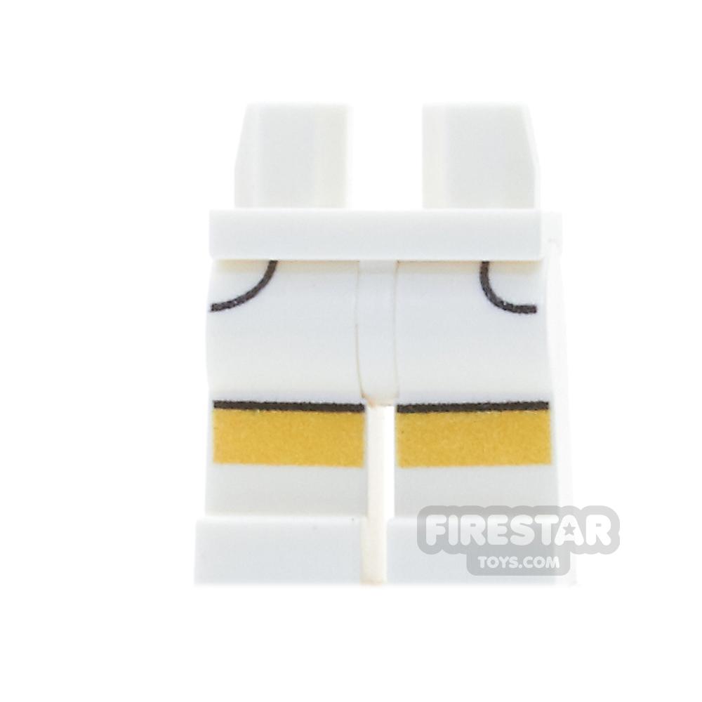 Custom Design Legs - Shorts - White
