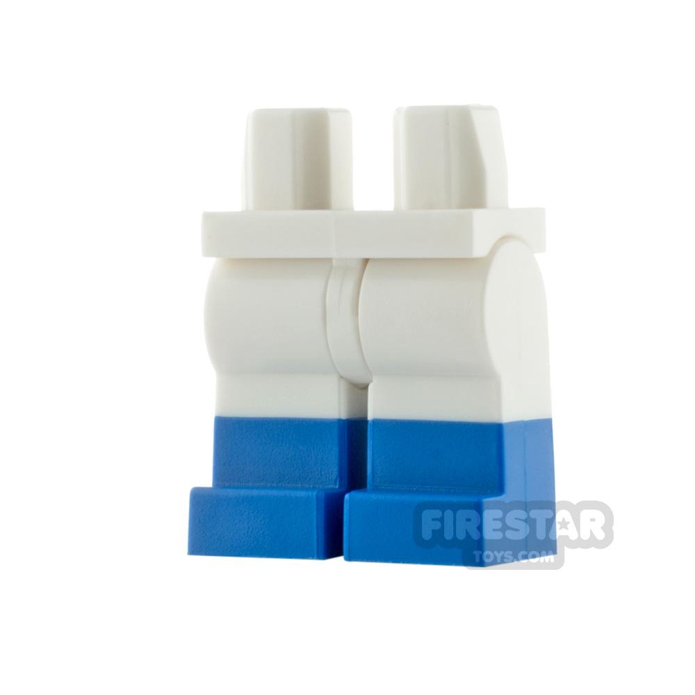 Custom Design Legs - Black with White Stripes