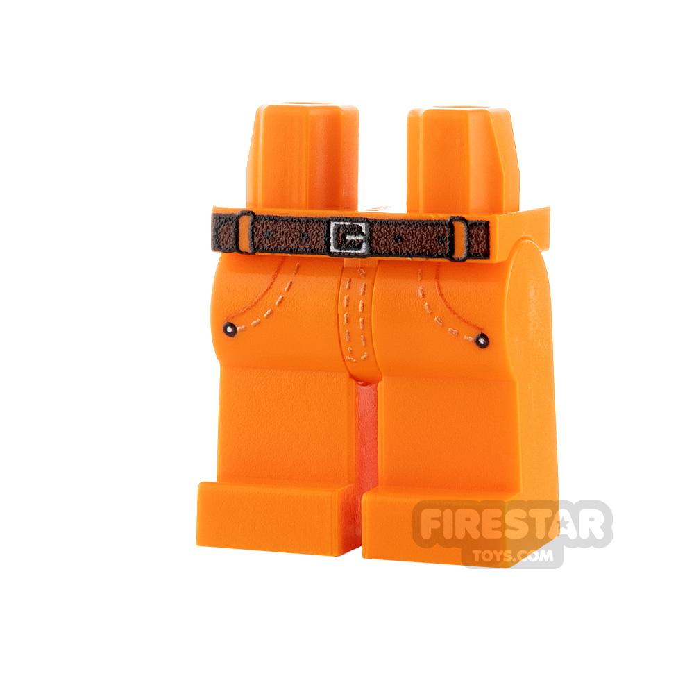 Custom Design Legs - Jeans - Orange