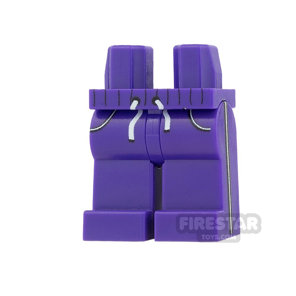 Custom Design Legs - Jogging Bottoms - Dark Purple