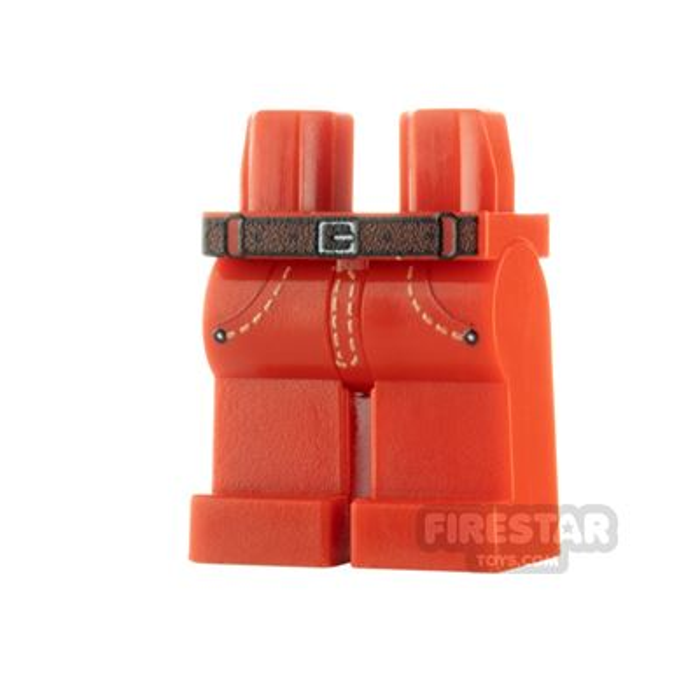 Custom Design Legs - Jeans - Red